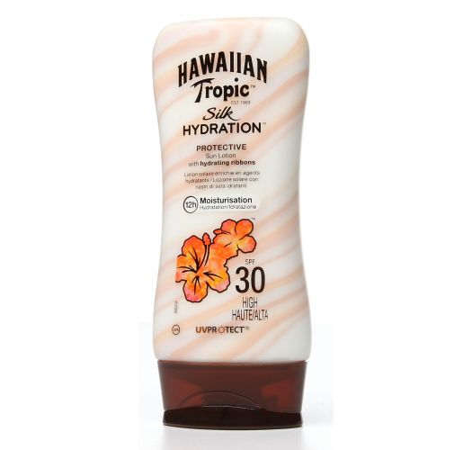 HAWAIIAN TROPIC SENSITIVE SUN LOTION 180ml FPS30